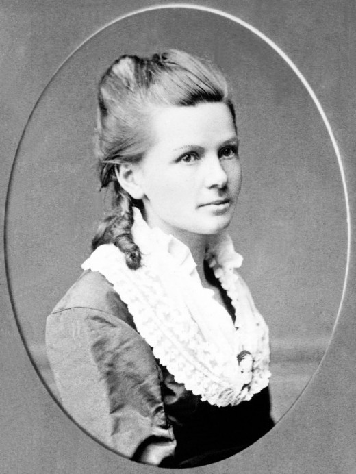 Bertha Benz, one of the pioneers of automobile travel.