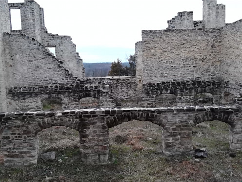 A Fire Destroyed the Castle.