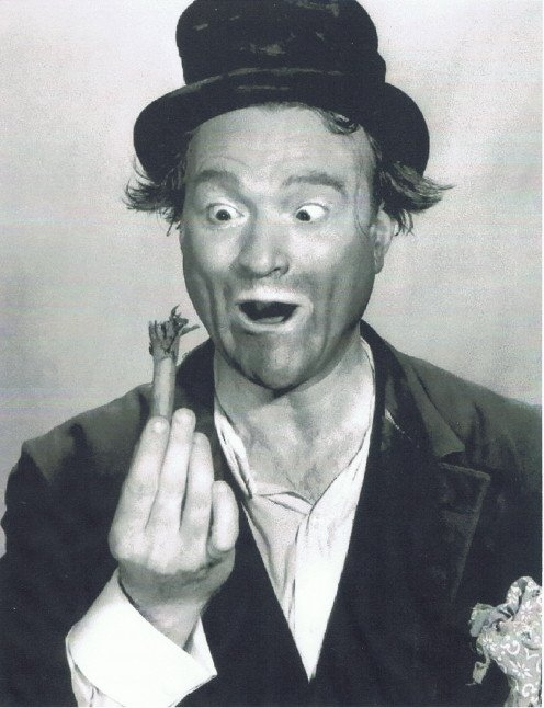 """The Clown Master,"" Red Skelton."