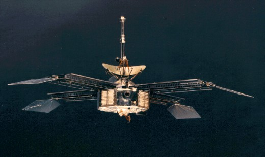 Launched on November 28, 1964, Mariner 4 was the first spacecraft to send back pictures of the surface of Mars, after performing a flyby of the planet in July 1965.  Communications with Mariner 4 were terminated on December 21, 1967.
