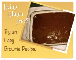 Love Living Gluten Free with this Brownie Recipe