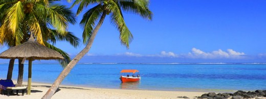 A beach at Kavaratti Island