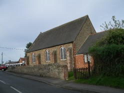 Methodist Church, Southmoor, Oxfordshire (formerly Berkshire), seen from the south-west.