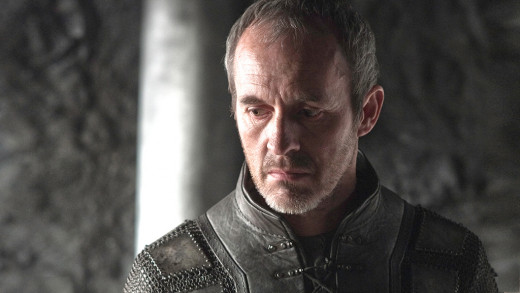 Stephen Dillane as King Stannis.