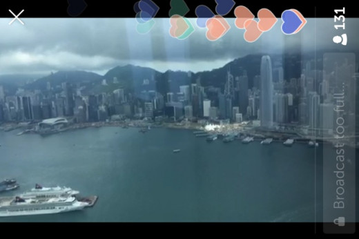Hong Kong from the 100th floor