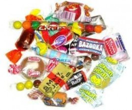 Assortment of penny candy that I spent every penny on as a child.