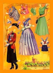 Queen Elizabeth Paper Dolls