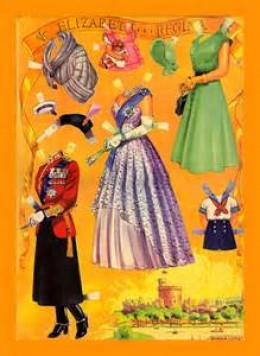 Queen Elizabeth Paper Dolls