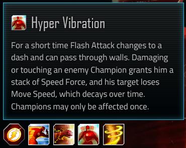 Flash special attack #3; Hyper Vibration