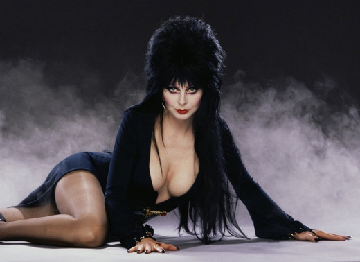 The classic and classy Elvira - Mistress of the Dark