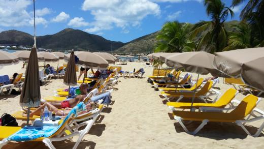 Pinel Island Beach