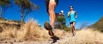 Running develops strong leg muscles.