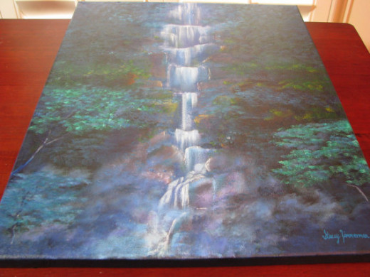 """Waterfall Symphony"" by Stacey Zimmerman"
