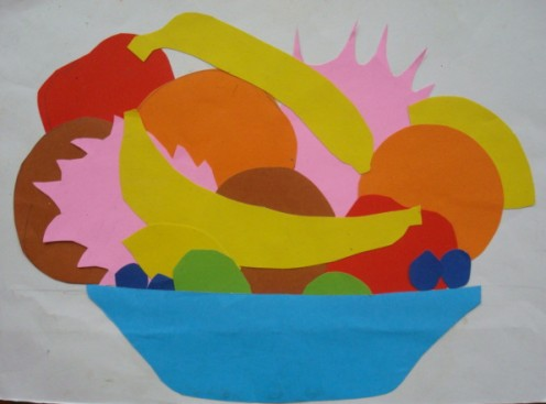 "Student Masterpiece, ""A Bowl of Fruit"""