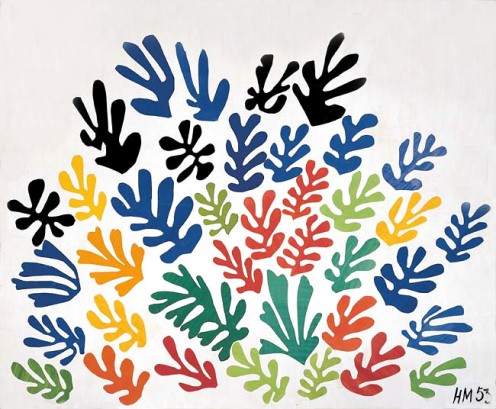 """Le Gerbe"" after Matisse"