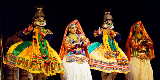 A Spectacular Kathakali Dance Performance