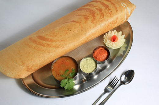 Paper Dosa at Hot Kitchen