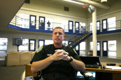 Prisoners do not mess with this officer in charge.