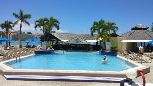 Royal Palm Beach Resort pool and very amazing