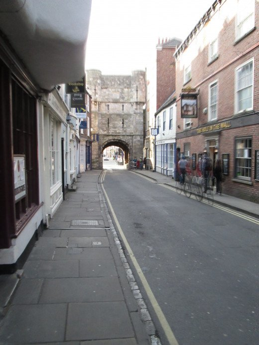 Another later Mediaeval structure, Bootham Bar was the bulwark the Scots came across when they tried to take the city several times