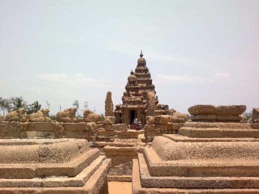 The Complex around Shore Temple