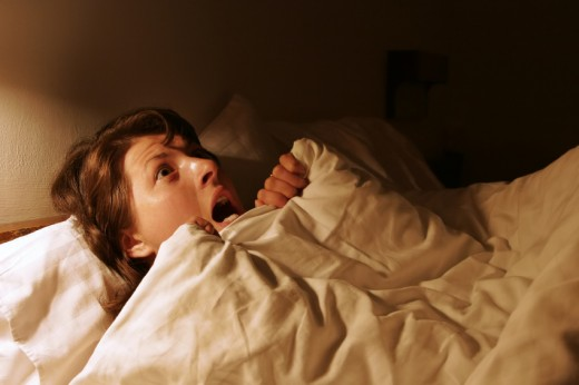 People often find themselves waking up in the middle of the night screaming and sweating heavily due to nightmares.
