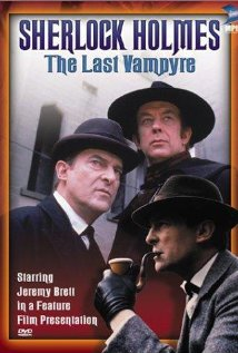 Jeremy Brett as Holmes and Roy Marsden as the mysterious Stockton