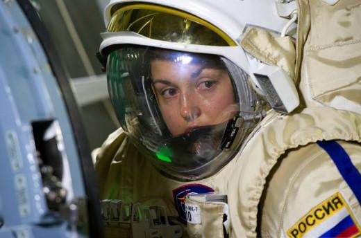 Sarah in Flight
