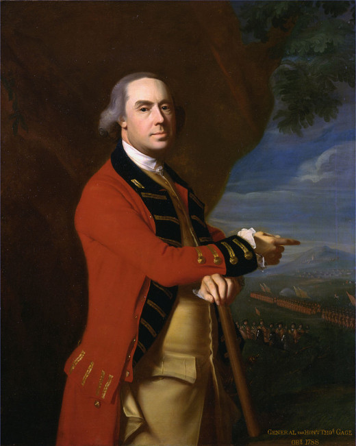 General Thomas Gage, by  John Singleton Copley (1738–1815)