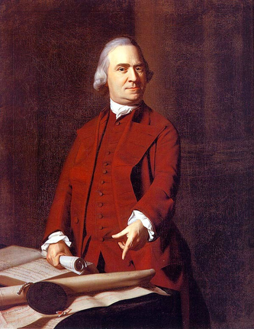 Samuel Adams by John Singleton Copley, 1772