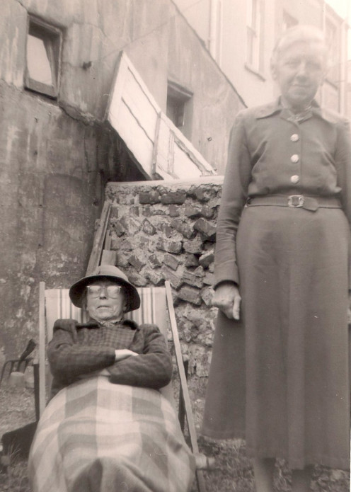 Grandma M (right) & Aunt E