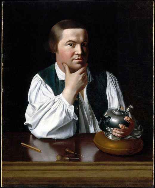 Paul Revere by John Singleton Copley (1738–1815)