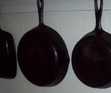 They had different sizes for cooking small or large foods.