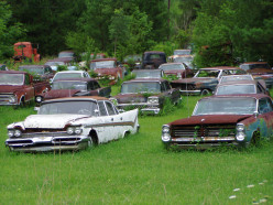 A junkyard on U.S. Highway 11 in Dade County, GA.