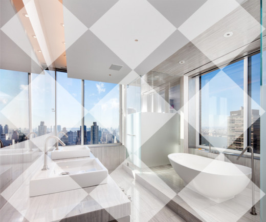 What a great view from your bathroom!