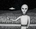 The Grey Alien Race
