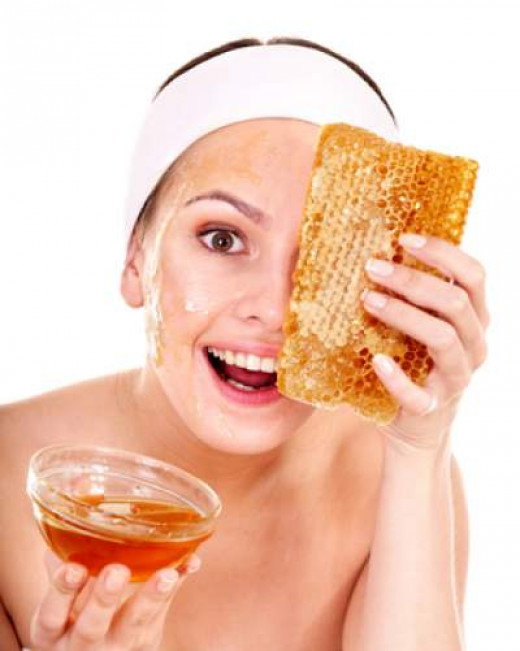 Honey is good for your skin.