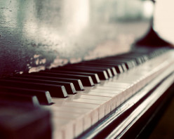 Piano Keys:  A Poem