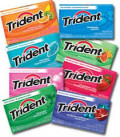 7 Different Trident Gum Mint Flavors