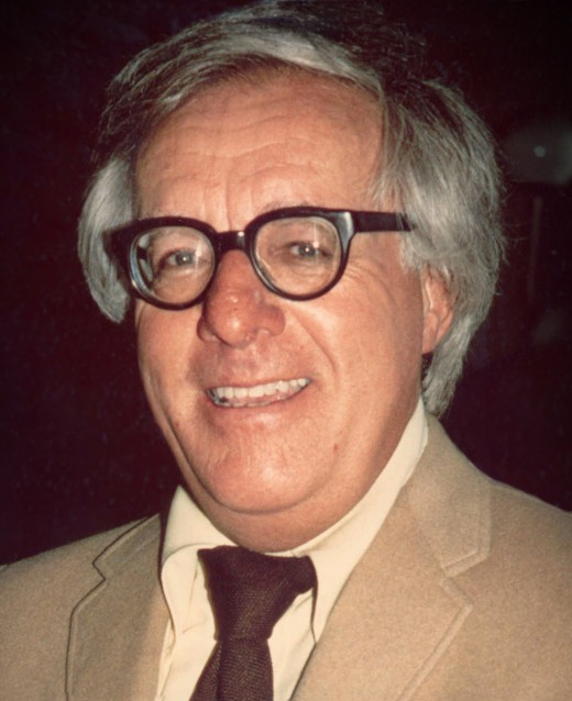 "Ray Bradbury (1920- 2012), a great American writer of many works including ""Fahrenheit 451"" and ""The Autumn People""."