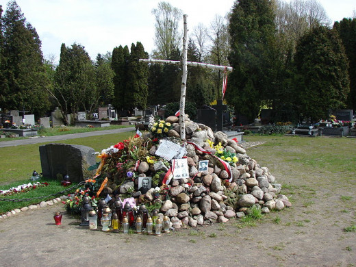 "A temporary memorial, the ""Meadow"""