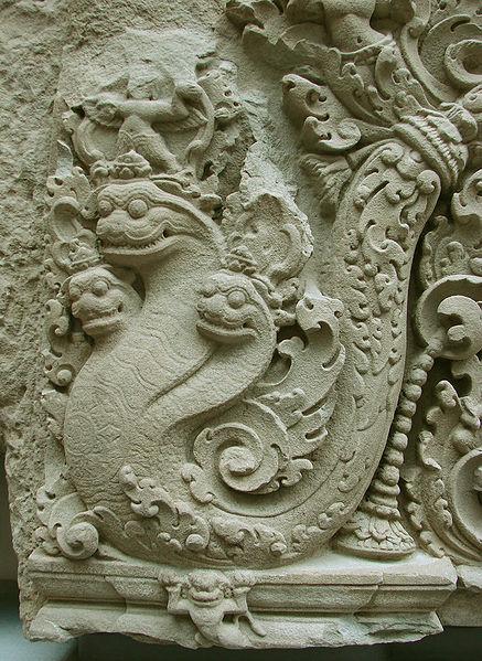 A neak sculpture from Cambodia.