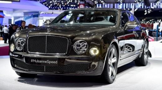 Bentley Mulsanne Speed - $338,325