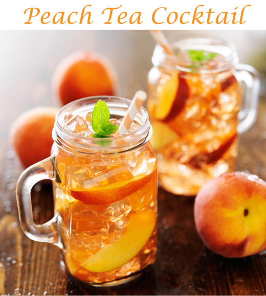 Peach Tea Cocktail