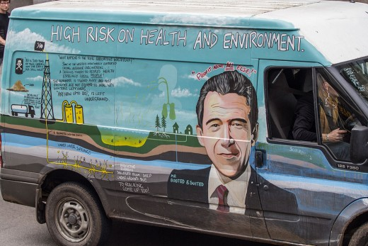 The Anti-Frack Van
