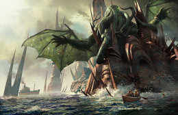 Cthulhu and the sunken city rise