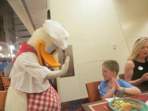 Dinner with Donald.