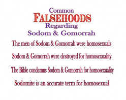 Sodom and Gomorrah - The Myth, The Truth