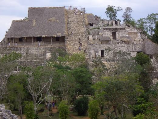 The Acropolis - Ek Balam, Yucatan