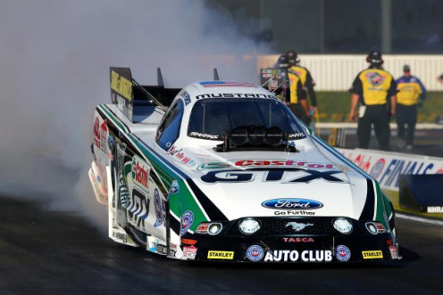 John Force in action.